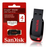 Sandisk Cruzer Blade 4GB USB Flash Drive
