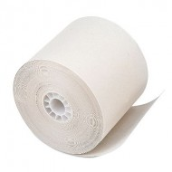 "One Ply Cash Register & Adding Machine Paper Roll - 2.25"" x 150' - 1 ct."