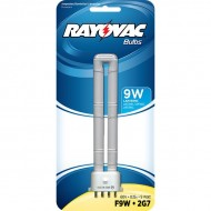 Rayovac F9W-1 9 Watt Fluorescent Tube U Bulb for 9 Watt Lanterns (1-Pack)