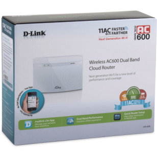 D-Link Wireless AC600 Dual Band Cloud Router
